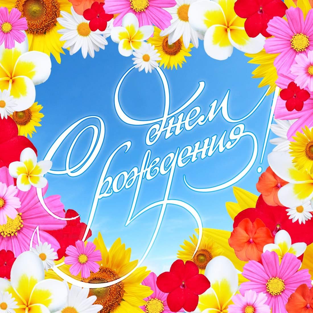 Гифка, открытки ко дню рождения на фейсбук